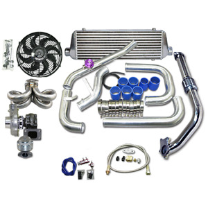 Turbo Kit For 92 00 Honda Civic D15 D16 Engine Ram Style Equal Length Manifold