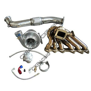 Cxracing Single Turbo Manifold Oil Line Kit For Lexus Sc300 2jz Gte Swap 2jzgte