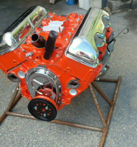 High Perf Numbers Matching 1960 Chevy Impala 348 Engine