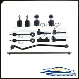 Fits 1997 2006 Jeep Tj 4wd 12x Suspension Kit Ball Joint Tie Rod Ends Sway Bar