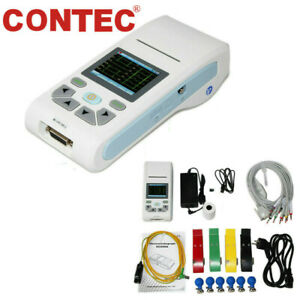 Us Ecg90a Digital 12 lead 12 Channel Ecg Ekg Machine Electrocardiograph software