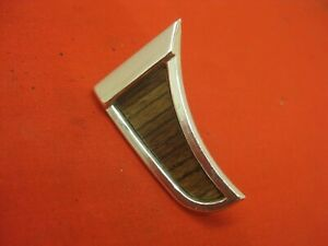 1965 Chevy Impala Convertible Sedan Left Dash Air Conditioning Duct Molding 4132