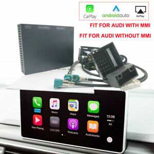 Carlinkit Smartlink Carplay Android Auto Upgrade Decoder Kit For Audi Mmi No mmi