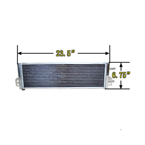 Air To Water Intercooler Aluminum Liquid Heat Exchanger