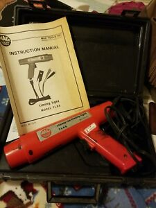 Mac Tools Tl85 Clamp On Timing Light With Case