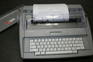 Brother Sx 4000 Electronic Lcd Display Typewriter W Dictionary Bundle