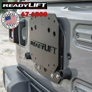 Readylift 67 6800 Spare Tire Relocation Bracket For Jeep Wrangler Jl 2018 2019