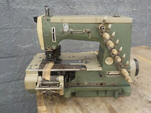 Industrial Sewing Machine Rimoldi 264 Front Meter And Rear Puller 4 Needle