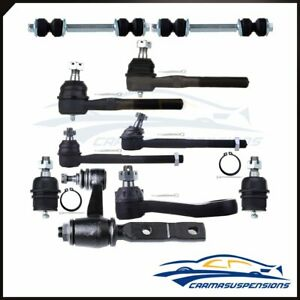 Fits Ford F 150 F 250 Expedition 4x4 Suspension Kit 10 Tie Rod Lower Ball Joint