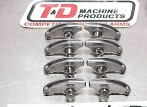 8 T D Stainless Shaft Roller Rockers Arms 1 95 Ratio K 1 650 Pivot