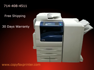 Xerox Workcentre 7970 Color Copier Printer Scanner With Stapling Finisher