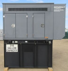 48 Kw Generac Diesel Generator Genset Single Phase Load Tested Mfg 2013
