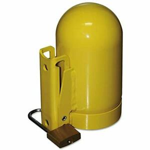 Saf t cart Sc8fnnp 12 Cylinder Cap High Pressure 3 1 8 Steel Yellow