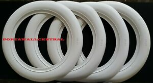 3 Wide White Wall Hot Rod Rat Old Tire Style Custom For 15 Tires X4