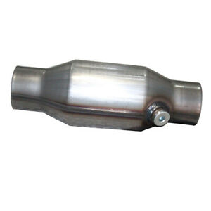 High Flow Catalytic Converter Stnd Universal fit Inlet outlet 2 5 Pipe