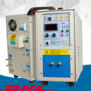 High Frequency Induction Heater Furnace For Heat Source Machine 15kw dhl