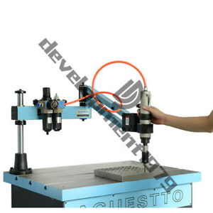 Universal Flexible Arm Pneumatic Tapping Machine M3 m12 Multi direction Tapping
