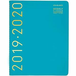 At a glance 2019 2020 Academic Year Weekly Monthly Planner appointment Book X