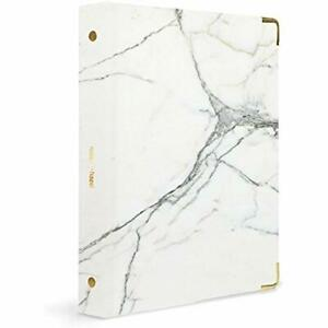 Russell Hazel Mini Three Ring Binder Marble Office Products