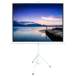 100 1 1 Gain Projector Screen 4 3 Projection Screen Portable Stand Tripod