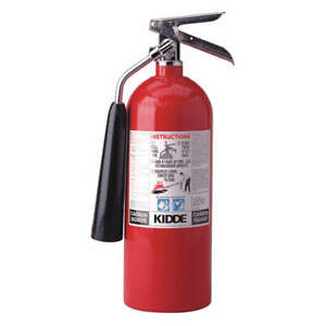 Kidde Fire Extinguisher 5b c Carbon Dioxide 5 Lb New Free Shipping