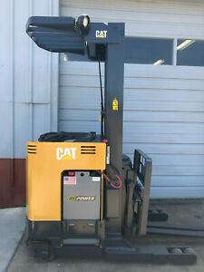 Caterpillar Electric Nrr35 216 Reach Truck Forklift Lifttruck