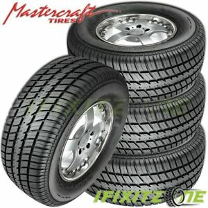 4 X Mastercraft Avenger G t P185 60r14 82t Bsw All Season High Performance Tires