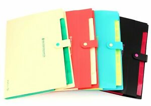 Bekith Document File Folder Poly Expanding A4 And Letter Size File Organizer