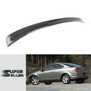 Fit For Acura Rsx Honda Integra Dc5 Oe Type Rear Trunk Spoiler Carbon