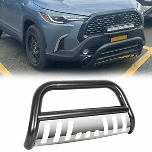 For 05 15 Toyota Tacoma Bull Bar Brush Push Front Bumper Grill Guard