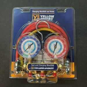 Yellow Jacket 42205 Manifold 3 1 8 60 Compact Valve Hose R22 134a 404a f