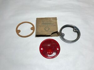 1932 1933 Desoto Plymouth Nos Tail Lamp Lens Rim 32 33