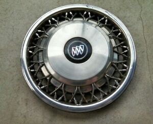 Pre owned 1988 1991 Buick Regal 14 Wire Hubcap Cap Wheel Cover Gm 10097502 1127