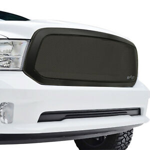 Fits 2013 2018 Dodge Ram 1500 Grille Black Stainless Steel Mesh Replacement
