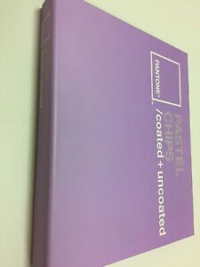 Pantone Pastel Chips Coated Uncoated Chips Book 3rd Edition