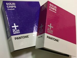 Pantone Plus Series Solid Chips Coated Uncoated