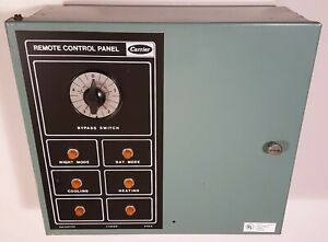 Carrier Honeywell Vintage Thermostat Remote Control Panel Big Industrial Timer