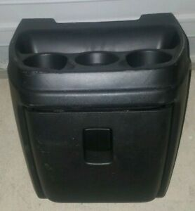 Chevy Van Box Truck Center Console Drink Tray With Glove Box Front Drawer