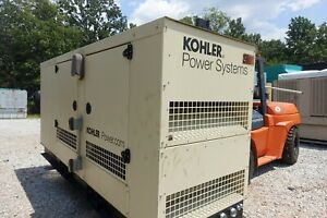 Kohler Natural Gas Generator 150 Kw 2014 Ats Included Must See