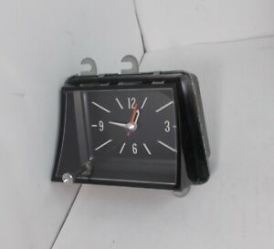 1969 1970 Pontiac Bonneville Catalina Clock Very Nice Serviced Works Perfectly