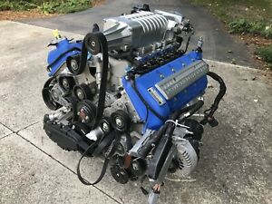 2006 Ford Gt Gt40 Supercar Engine 5 4 Dohc Supercharger 900 Miles