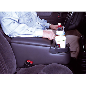 Car Center Console Bench Seat Universal Cup Holder Contractor Truck Van Storage