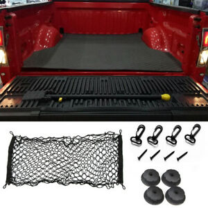 Truck Bed Envelope Style Trunk Mesh Cargo Net For Ford F 150 2015 2019