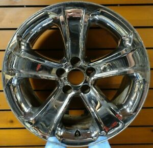 18 Inch Dodge Charger 2011 2014 Chrome Clad Wheel Rim Factory Oem 2407