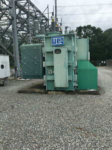 7500 Kva Weg Substation Transformer 69000 4160 Volts Look