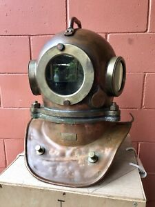 Russian 3 Bolt Diving Helmet Maritime Deep Sea Scuba Dive Diver Vintage Original