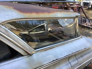 1959 1960 Chevy Pontiac Oldsmobile Station Wagon Glass