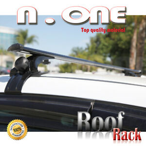 Roof Rack Cross Bar Top Mount Luggage Aerodynamic Cargo Carrier Fit Toyota 605
