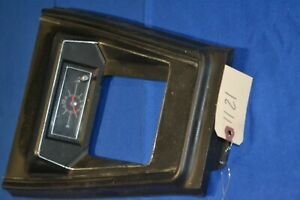 1971 1972 1973 Mustang Console Clock And Center Panel