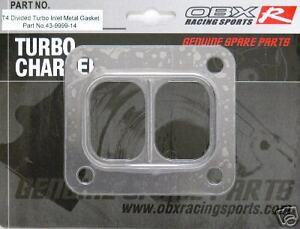 Obx Metal Turbo Gasket For T6 Twinscroll Divided Turbo